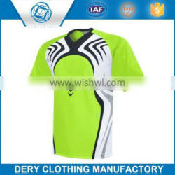 Promotion custom customized cheap soccer jersey set in 100% polyester material