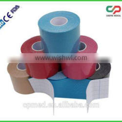 Sports Therapeutic Kinesiology Tape for Athlets with CE FDA