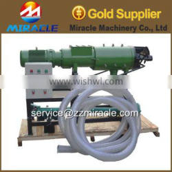 Screw press cow down slurry solid and liquid separator apply to poultry/cow farm