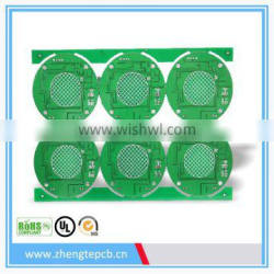 mouse circuit pcb HASL board,ROHS approved mouse pcb,factory in shenzhen