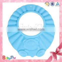 2015 China alibaba supplier wholesale product for baby safety shower bath waterproof cap fancy shower cap