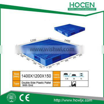 China Manufacturer Sale Double Faced Plastic Pallet