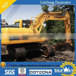 Liugong excavator with bucket capcity from 0.1 to 2 cubic meter
