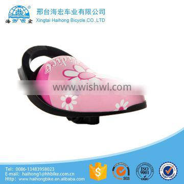 popular children bicycle saddle with ISO9001/plastic bicycle saddle/color bicycle saddle