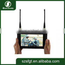 """7"""" TFT High Resolution Full-touch Wireless COFDM Video Receiver"""