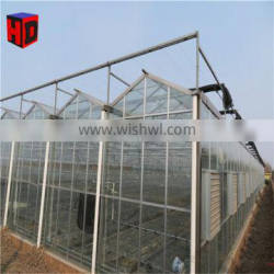 pc greenhouse growing strawberry with hydroponic system