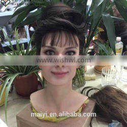 2015 hot sale artistic silicone statue of classical star Audrey Hepburn