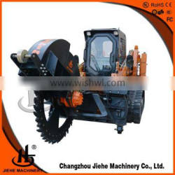 road trencher Or Digging,CE Certificated trencher fiber optic JHK600
