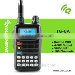 waterproof portable radio TG-6A ham radio china