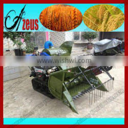 Hot Selling New Small Mini Rice Wheat Combine Harvester In Italy