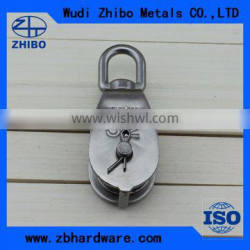 2015 China Supplied Stainless Steel Pulley Block