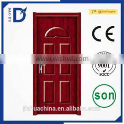 new design steel wooden door american steel door