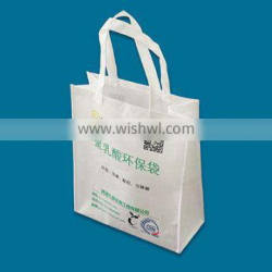 2017 Wholesale ECO Friendly Custom Printed Certified Compostable PLA Non-Woven Shooping Bag