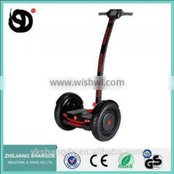 2016 hot sale 15 inch 2 wheel self balance electric scooter with handle bar