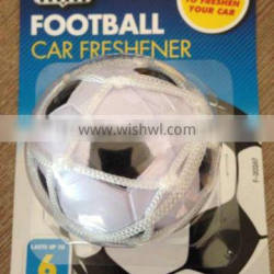 2015 various football air freshener with net and cupula