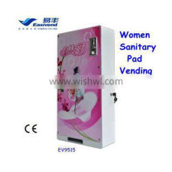 Wall Mounted Women Sanitary Pad Vending Machine