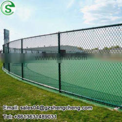 pvc coated chain wire 9 gauge vinyl fence