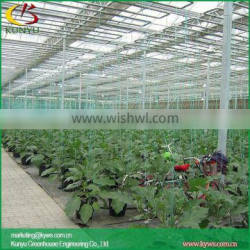 Sawtooth type home greenhouse commercial greenhouse