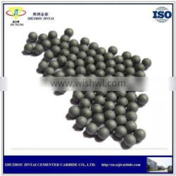 high wear resistant tungsten carbide ball with low price from Zhuzhou manufacture