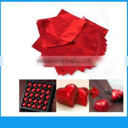embossing aluminum foil for chocolate wrapping