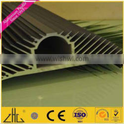 WOW!!!new aluminum products!professional round aluminum heat sink / custom anodizing aluminum heatsink