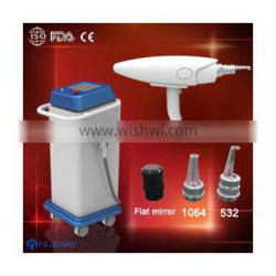 hot selling q-switched best laser nd-yag tattoo removal machine