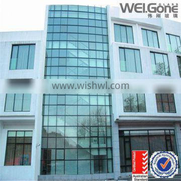 factory price double glazed windows with blind