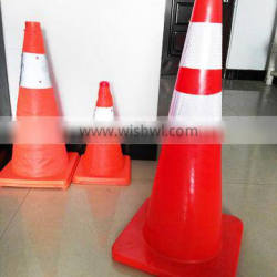 Red PVC Traffic Road Safety Cone