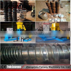 Floating fish feed extruder machine spare parts of the pellet dies, screw,cutting blades 0086 13608681342