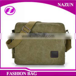 2016 factory price bussiness men's canvas messenger bag with muti color