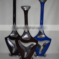 Metal Flower Vases With Enamel Finish For Home And Wedding Decor 384450