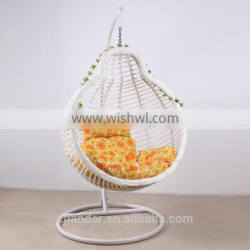 Bamboo swing chair,Indoor swing chair with stand,Hanging swing chair