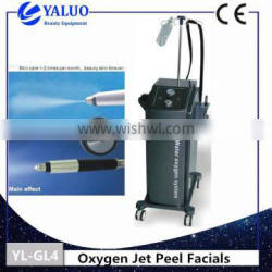 YL-GL4 Oxygen Jet Facial Machine Anti-aging For Face Lift & Pigment Removal Diamond Peel Machine