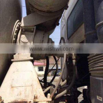 used excellent mixer truck Howo Delong 12 m3 in shanghai