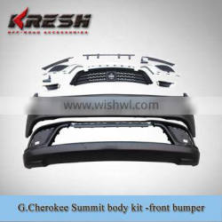 Untility OEM Grand Cherokee summit and SRT8 body kit with Summit style and TEO material