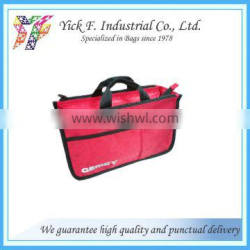 Water Repellent HD Polyester Travel kits bag with multi compartments