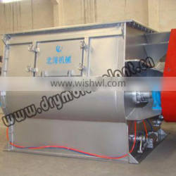 Double shaft paddle mixer ,dry mortar mixer