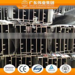 6060 T3-T8 0.8-1.4mm aluminum extruded for garden fence with anodized finish