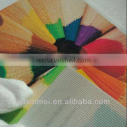 Weifang Xinmei 270gsm digital printing canvas Waterproof polyester inkjet canvas for printing