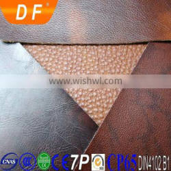 China supplier Nonwoven,woven, double knitted,cotton Backing Technics Lichee Pattern pvc leather