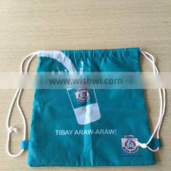 Most Popular Best Selling Promotional Polyester Drawstring Bag With NO MOQ