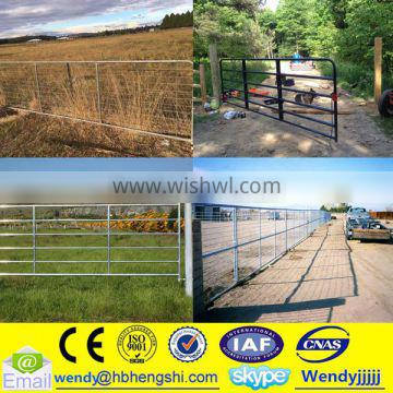 Electro galvanized farm gate/welded wire fence
