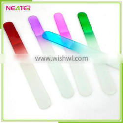 hot sell nail file custom printed glass nail file