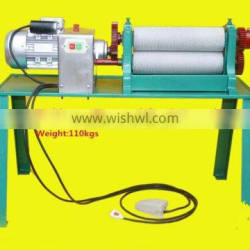 Manual Beewax Foundation Sheet Mill Machine for beekeeping