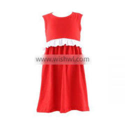 Bulk wholesale kids clothing baby girl dresses Children boutique clothing baby girls dress pure cotton dress