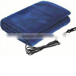 12V Portable Heating Blanket with Plaid Pattern