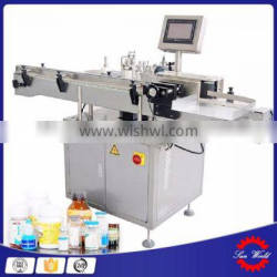 Round vial Bottle Automatic Adhesive Sticker Labeling Machine