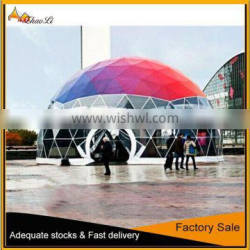 Top sale dome tent, steel geodesic domes for sale