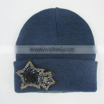 China factory made fashion crochet hat custom knitted cap hat