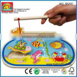 fishing toys in wood conform to EN71 ASTM